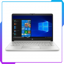 Laptop HP 14s-cf0135TU 1V884PA I3-8130U | 4GD4 | 256G SSD | Win10 | Bạc | 14.0HD